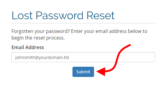 Reset your ExactHosting Portal password – ExactHosting